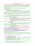 Eastern Orthodoxy – Outline A lot of these notes don`t make sense
