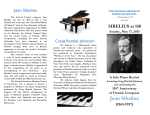 Jean Sibelius The beloved Finnish composer Jean Sibelius was