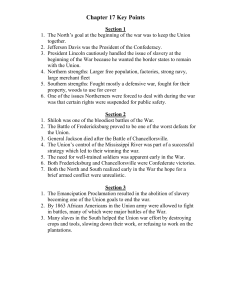Chapter 17 Key Points