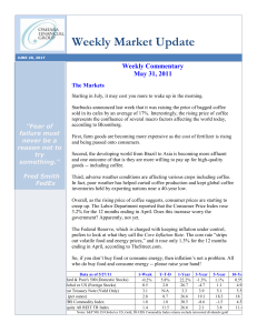 Weekly Market Update - O`Meara Financial Group