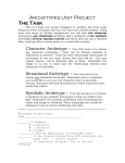 Archetypes Unit Project