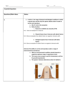Cornell Notes Template - Ms. Doran`s Biology Class