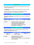 Conjunctions - Google Sites