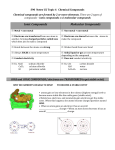 S90 Notes U2 Topic 6 Chemical Compounds