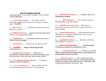 Unit 3 Vocabulary Words with Answers