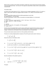 Please review my solution to the problem and explain in