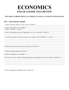 Bootcamp Review Worksheet