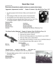 WWII Learning Guide