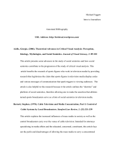 Michael Faggett Intro to Journalism Annotated Bibliography URL