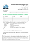 Registration Form - Asia Pacific Loan Market Association