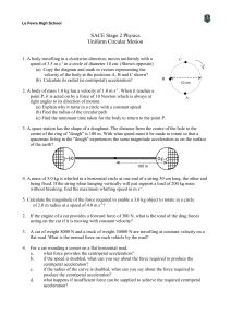 Worksheet - Uniform Circular Motion File