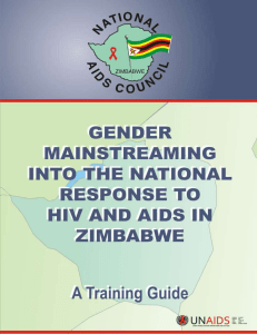 Gender and Sexuality - National AIDS Council of Zimbabwe