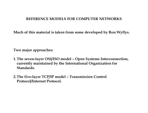Reference Models - UT School of Information