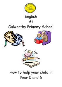 Year 5 and 6 English - Gulworthy Primary School