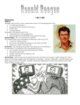 Ronald Reagan Handout example