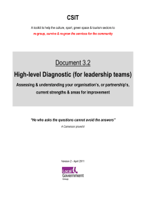 3.2. High-level diagnostic tool (Word, 4 pages, 65KB)