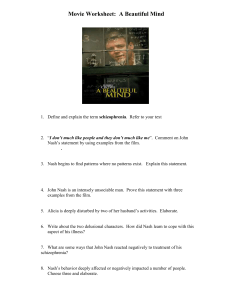 HSP3M – Movie Worksheet: A Beautiful Mind