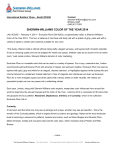 for immediate release - International Builders` Show