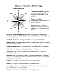 Compass Navigation Terminology