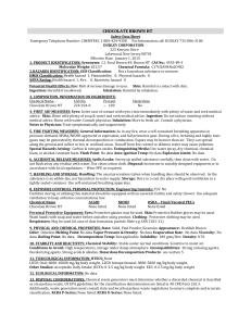 MSDS - Dudley Chemical Corporation