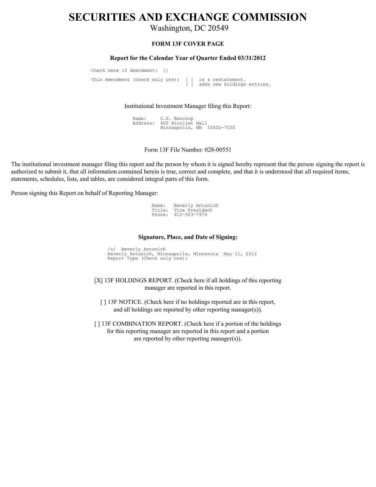 Form: 13F-HR, Received: 05/11/2012 16:32:34