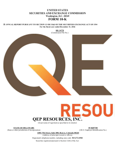 QEP RESOURCES, INC. (Form: 10-K, Received: 02