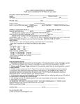 hall / beer garden rental agreement