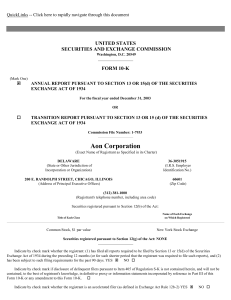 AON CORP (Form: 10-K, Received: 03/11/2004 16