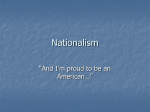 Nationalism - Lisle CUSD 202