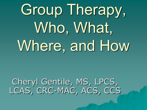 2012-APNC-Fall-Conference-Gentile-Group-Therapy-Who