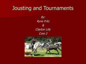 Jousting and Tournaments