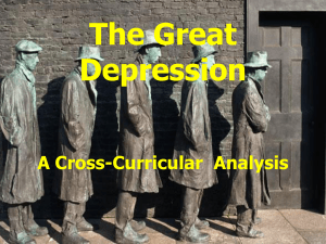 The Great Depresssion