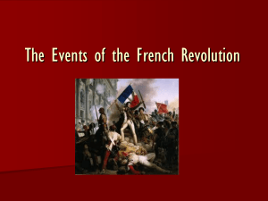 The Course of the French Revolution