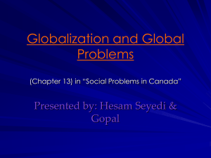 Globalization and Global Problems