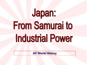 Japan Samurai to Industry