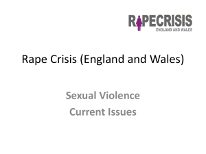 Sexual Violence Current Issues