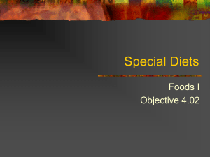 4.02 Special Diets