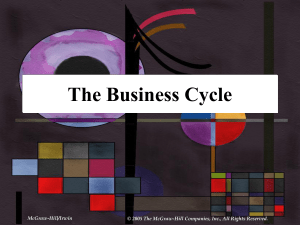 the business cycle - McGraw Hill Higher Education