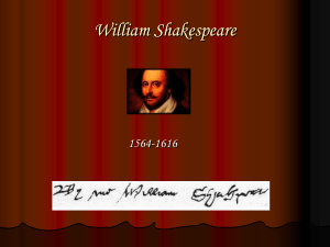William Shakespeare - Mustang Public Schools