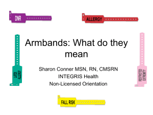 Armbands: What do they mean