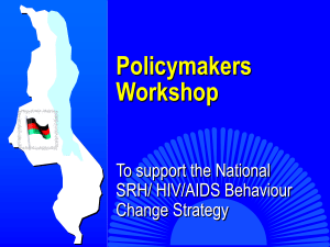 Policymaker Workshop Presentation.