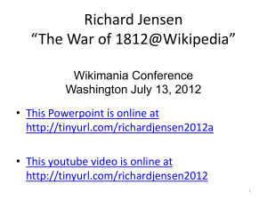 Images of 1812 - Web Sources for Military History