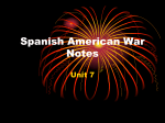 Spanish American War Notes