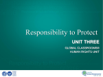 Why is the responsibility to protect important?