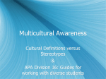 Div. 16 Guidelines and Culture Grams (ppts)