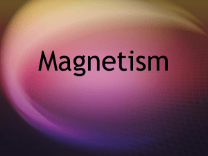 Magnetism - HouseWscience