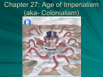 Chapter 27: Age of Imperialism