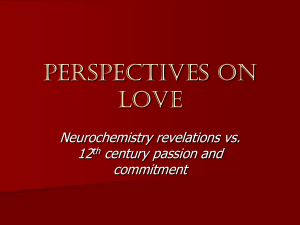 Perspectives on love