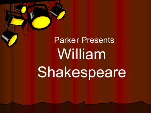 Shakespeare and Julius Caesar PowerPoint Presentation