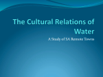 The Cultural Relations of Water